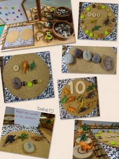 "Activities linked with dinosaurs in the Early Years classroom - from Rachel ("",) Dinosaurs Preschool, Dinosaur Activities, Numbers Preschool, Dinosaur Crafts, Preschool Themes, Kindergarten Activities, Fun Activities, Maths Display, Early Years Classroom"