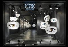 Kirk Originals eyewear flagship in London.