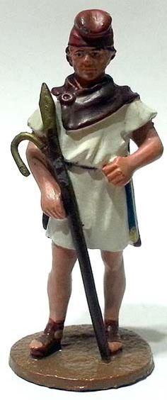 "Conducente di elefanti, numero 69 di ""Roma e i suoi nemici"" (2011 Vadis) #Miniatures #Figures #AncientRome #OspreyPublishing"