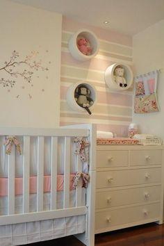 45 Ideas Baby Room Decoracion Cuarto Bebe For 2019 Baby Bedroom, Baby Room Decor, Nursery Room, Boy Room, Girl Nursery, Girls Bedroom, Room Baby, Nursery Decor, Nursery Ideas
