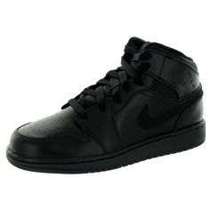 187e7911527f82 Nike Jordan Kid s Jordan 1 Mid Bg Basketball Shoe Original Air Jordans