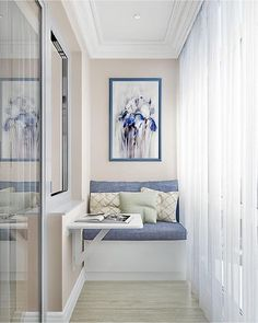 Check out these small balcony decor ideas to brighten up your home. The best part is that none of these ideas will need too much time or money to execute. Custom Patio Doors, Small Balcony Decor, Home Interior Design, House Interior, Home, Apartment Design, Interior, Balcony Furniture, Home And Living