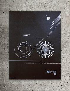 """graphic design concept """"bike"""""""