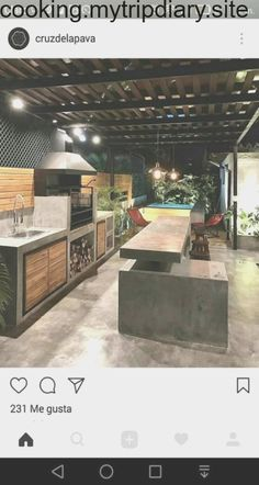 """Check out our web site for more information on """"outdoor kitchen designs layout patio"""". It is actually an outstanding location for more information. Outdoor Kitchen Patio, Outdoor Kitchen Design, Diy Patio, Patio Design, Backyard Patio, Outdoor Spaces, Outdoor Decor, Patio Ideas, Outdoor Shop"""