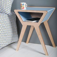 Lunar Bedside Table - furniture