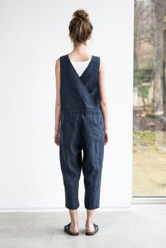 e96f76954e2b US 39.89 53% S-6XL Casual Women Denim Pockets Jumpsuit Playsuit Women s  Clothing from Clothing and Apparel on banggood.com in 2019