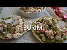 Ensalada de surimi (kanikama o palitos de cangrejo)