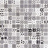 """Found it at Wayfair - 1"""" x 1"""" Recycle Glass Mosaic Tile in Black and White"""