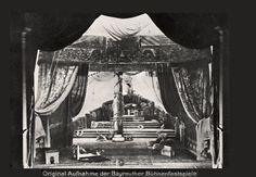 """"""" Tristan und Isolde """" 1.Aufzug 1906 Max Brückner  Bühnenphoto"""