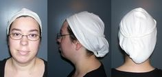 The Compleatly Dressed Anachronist: St. Birgitta's Coif - in 15 minutes!