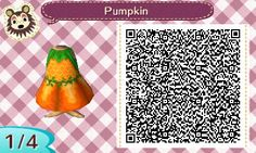 "yasuosanimalcrossing: "" Pumpkin dress for Halloween❤ """