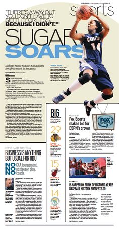 Sports, March 6, 2013.