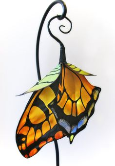Swallowtail Butterfly Lantern by littlewingfaerieart on Etsy, $70.00