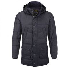 BARBOUR NAVY FAIRFORD JACKET From ZAKZ Menswear
