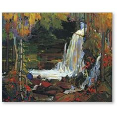 Woodland Waterfall-Tom Thompson