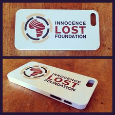 Innocence Lost Foundation iphone case  Buy online: http://www.etsy.com/shop/AvaVanderstarren
