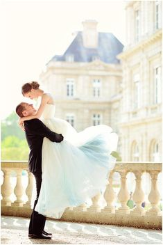 Wedding Styles Dramatic lift in front of romantic French Wedding Chateau on French Wedding Style © – Emm and Clau Photography - Dreams come true on a Paris honeymoon photo shoot around the romantic city, Katarina wore a Martin Hrča pale blue wedding dress Wedding Photography Styles, Wedding Styles, Wedding Photos, Trendy Wedding, Vintage Photography, Portrait Photography, Paris Wedding, Dream Wedding, Ideas Para Photoshoot
