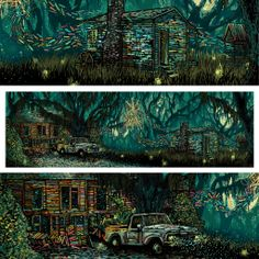 All Around Us, Everywhere (True Detective) – James R. Eads Illustration