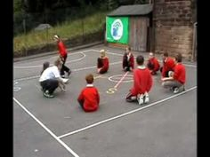 The children are playing Ghanaian playground games