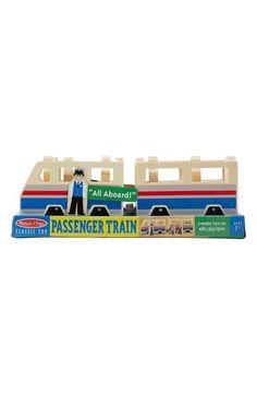 Melissa & Doug Wooden Passenger Train
