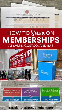 Wondering which warehouse offers the best membership deals? Here are the Sam's Club Vs Costco Prices (and BJ's too!) – see which one offers the best perks and prices! If you have been considering a Sam's Club Membership, NOW is seriously – SERIOUSLY – the time to grab one at a discount that makes them basically free!Sams Club is a members-only warehouse store, where members are paying for MORE than convenience & value. The Sam's Club Membership Price includes these perks: