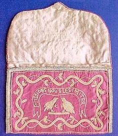 18th C. Pocket case: PUISSIONS NOUS LES IMITER::MAY WE IMITATE THEM