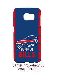 Buffalo Bills Samsung Galaxy S6 Case Cover Wrap Around