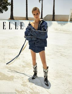 Cara Delevingne braless for Elle magazine   Daily Mail Online