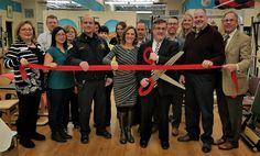 TriPilates celebrated its 10 Year Anniversary on February 16! Guests enjoyed appetizers catered by Whole Foods Park Ridge, refreshments, and pilates demos. Mayor Marty Maloney cut the red ribbon and mingle with attendees throughout the evening.