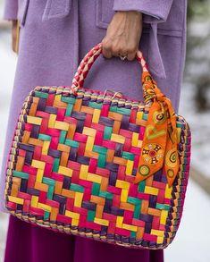 Basket Weave Basket Weaving, Straw Bag, Weave, Handbags, Purses, Lady, Accessories, Fashion, Moda
