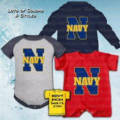 Oh these Navy Baby Clothes are so freakin' CUTE! Find 'em at… Navy Mom, Navy Wife, Us Navy Shirts, Navy Military, Personalized Shirts, Hoodies, Sweatshirts, Zip Ups, T Shirt