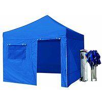 On sale Eurmax 10x10 Pop up 4 Wall Canopy Tent Gazebo Ez and Heavy Duty Roller…