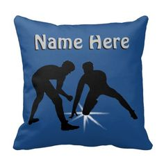PERSONALIZED Wrestling Pillows Your NAME or TEXT and Your Team or Room COLORS. Type in your text into text box templates. CLICK: http://www.zazzle.com/personalized_wrestling_pillow_your_text_and_colors-189128304488623277?rf=238147997806552929 Change the Colors to Your Team or Wrestling Bedroom Decor. More Personalized Wrestling Gifts for Wrestlers HERE: http://www.zazzle.com/littlelindapinda/gifts?cg=196019685399204777&rf=238147997806552929 CALL Linda for Help and Changes to Design…