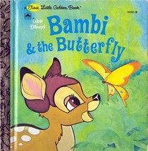 Little Golden Book Disney Bambi And The Butterfly