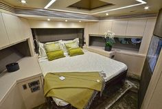 Owning a yacht is an unmatched and exclusive accomplishment – the highest echelon of luxury experiences. That's why yachts are designed with high-end products, such as carpeting from Jacaranda Carpets! Yacht Interior, Interior Design, High End Products, Private Yacht, Yacht Design, Yachts, Carpets, Luxury, Bed