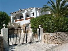Rental in La Fustera from Moraira, Vacation Villas, Private Pool, Home And Away, Wifi, Swimming Pools, Coast, Mansions, House Styles