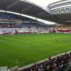 HOME'S Stadium,The home stadium of Vissel Kobe.  ヴィッセル神戸のホームスタジアム、HOME'Sスタジアム。