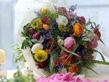 A ranunculus bouquet #flowers