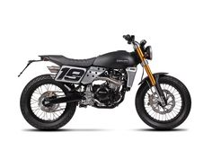 Available in three engine sizes and as a scrambler or flat track, the Fantic Caballero remains a standout bike - despite serious competition in this market sector, from the likes of the Ducati Scrambler BMW's RnineT Scrambler and the Triumph Scrambler. Motor Scrambler, Scrambler Custom, Cx500, Triumph Scrambler, Custom Cafe Racer, Moto Bike, Cafe Racer Motorcycle, 500cc Motorcycles, Custom Motorcycles
