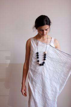 una: hannoh.: idea with linen table cloth