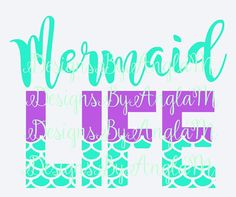 Custom listing for Kelly B Cricut Monogram, Monogram Decal, Cricut Vinyl, Fin Fun Mermaid, Mermaid Tale, Mermaid Quotes, Vinyl Clothing, Vinyl Shirts, Silhouette Cameo Projects