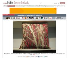 Cushions design by Simone Monteiro.  At www.uol.com.br  STUDIO NOBLE SAVAGE: Paralela Gift Feira de Design