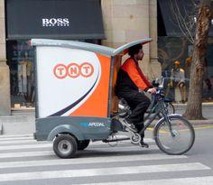 Barcelona parcel service