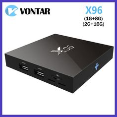 [Genuine] VONTAR X96 Amlogic S905X Quad Core Android 6.0 TV Box 4K 2GB 16GB 2.4G Wifi HD 2.0A Smart TV Box Media Player