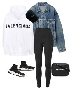 casual streetwear by jonesstacey114 on Polyvore featuring polyvore fashion style Balenciaga clothing