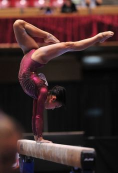 Gymnastics - Sophia does this pose in her floor routine! All About Gymnastics, Gymnastics Images, Gymnastics Quotes, Amazing Gymnastics, Sport Gymnastics, Artistic Gymnastics, Olympic Gymnastics, Gymnastics Leotards, Olympic Games