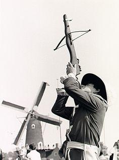 Oirschot - Landjuweel 1980, schietwedstrijden (kruisboog) Brabant Pers (fotograaf) - 1980