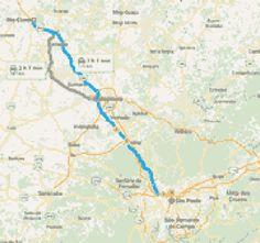 Visualizar mapa Almazán hasta Molina de Aragón.