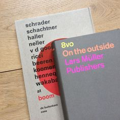 Back in Stock: 8vo On the outside & Ibo by Irma Boom. Find them on Counter-Print.co.uk #counterprintbooks #8vo #irmaboom