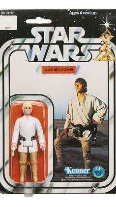 "KENNER ""Star Wars"" Luke Skywalker Card My first ever action figure Luke Skywalker Action Figure, Star Wars Luke Skywalker, Kenner Star Wars, Star Wars Toys, Star Trek, Star Wars Art, Retro Toys, Vintage Toys, 1970s Toys"